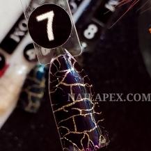 Гель-лак Nailapex CRACKLE №7 - Фиолетовый (10мл)