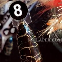 Гель-лак Nailapex CRACKLE №8 - Шоколадный (10мл)