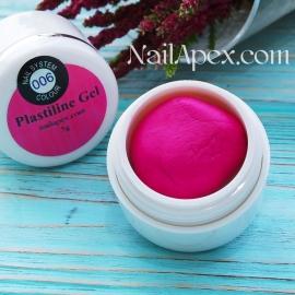 NAILAPEX «PLASTILINE Gel» Мягкий Пурпур №6 (5g.) — Гель пластилин для лепки