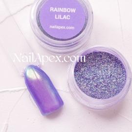 NAILAPEX Радужная втирка «RAINBOW LILAC» (Радужная втирка с фиолетовым оттенком)