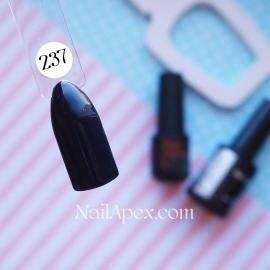 NailApex Gel Polish №237 гель-лак черный (10мл) ч/б