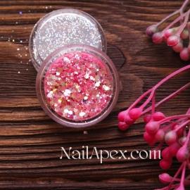 Брокат «Розовый» (№59)