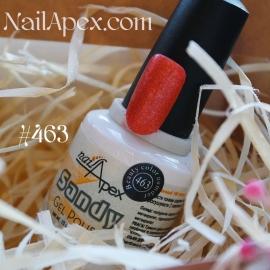 NailApex гель-лак SANDY №463  (15мл) песочный/сахарный эффект