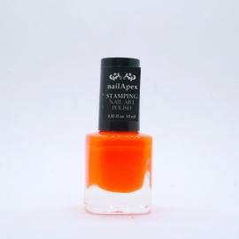 Nail Apex лак для стемпинга №08 — Оранжевый (10ml)