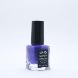 Nail Apex лак для стемпинга — Фиолетовый (10ml)