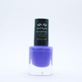 Nail Apex лак для стемпинга №07 — Светло-фиолетовый (10ml)