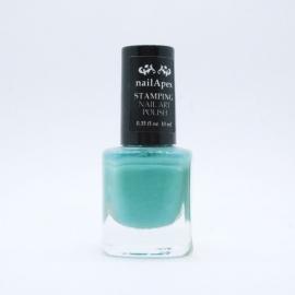 Nail Apex лак для стемпинга №10 — Серо-голубой (10ml)
