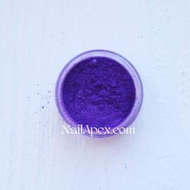 Пигмент (Фиолетовый с мелкими блестками)