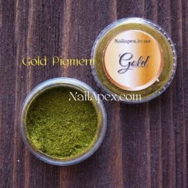 Пигмент для втирки «Gold» (Золото)