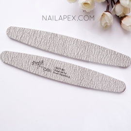 NailApex пилка овальная (серая) 150/150