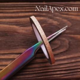 Серпантин для дизайна Bronze/Бронза (широкая полоска 3,3mm)