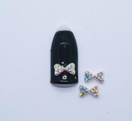 Броши для ногтей - Бант «Голограмма» (A131-02)