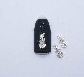 Броши для ногтей - «Скрипка» (J136-01)