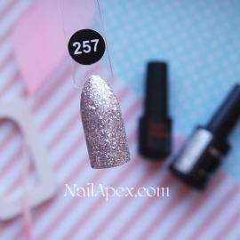 NailApex №257 гель-лак «Shimmer»