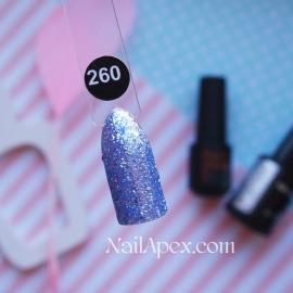 NailApex №260 гель-лак «Shimmer»