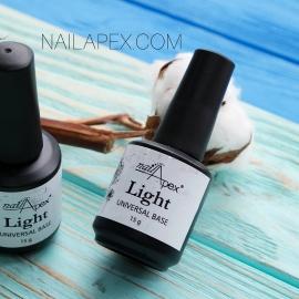 Nailapex «LIGHT BASE» Каучуковая обновленная лайт база