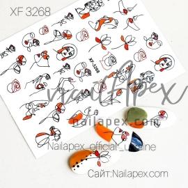 Наклейка (XF3268)