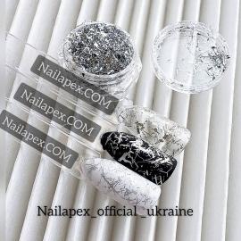 Нитка Юкки - серебро (silver)