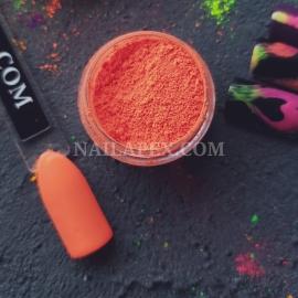 Пигмент Nailapex неон яркий оранж (номер 6)