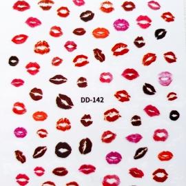 Наклейка (DD-142) Kiss