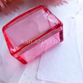 Штамп квадратный для стемпинга (красный)