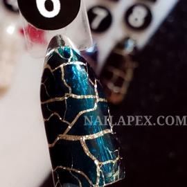 Гель-лак Nailapex CRACKLE №6 - Бирюзовый (10мл)