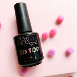 Nailapex густой Топ «3D TOP» для объёмных дизайнов