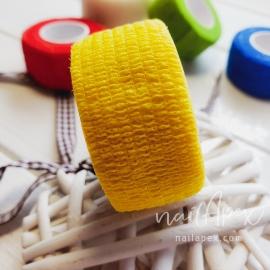 Бинт-бандаж для пальцев: желтый (узкий)