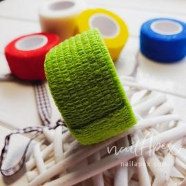 Бинт-бандаж для пальцев: зеленый (узкий)