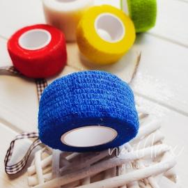 Бинт-бандаж для пальцев: синий (узкий)