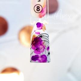 Акварельный Флюид №8 Фиолетовый