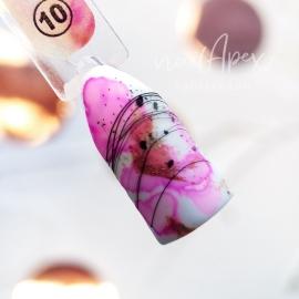 Акварельный Флюид №10 Светло-розовый