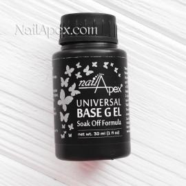 NAILAPEX «UNIVERSAL BASE GEL SOAK OFF» (30ml)/База под гель-лак