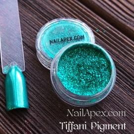 NailApex Foil «Tiffani Pigment» - пигмент для втирки (цвет «Тиффани»)