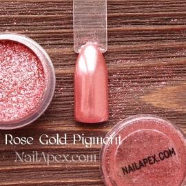 NailApex Foil «Rose Gold Pigment» - пигмент для втирки (цвет «Роза»)