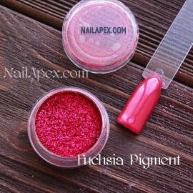NailApex Foil «Fuchsia Pigment» - пигмент для втирки (цвет «Фуксия»)