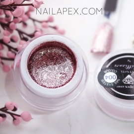 NailApex гель-краска Fantastik «BRILLIANCE» №004 — Мягко-розовое Золото