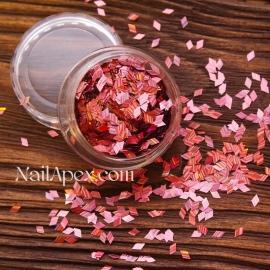 Ромбы для декора «БЛИК» — Розовый (№188)