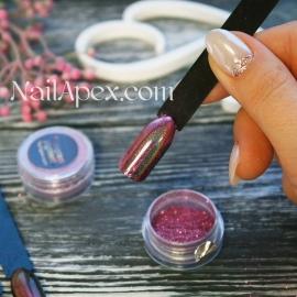 Premium PINK Hologram pigment/голограммный розовый пигмент (призма)