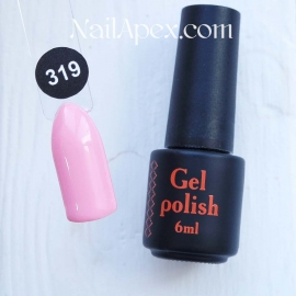 NailApex Gel Polish №319 гель-лак «» (6мл) ч/б