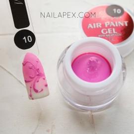NailApex Гель-краска «AIR GEL PAINT» №10 — Сиренево-розовая (воздушная)
