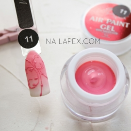 NailApex Гель-краска «AIR GEL PAINT» №11 — Пастельно-розовая (воздушная)