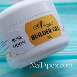 NailApex Моделирующий Крем гель «Rose Moon» (50g) Builder Gel — гель для ногтей