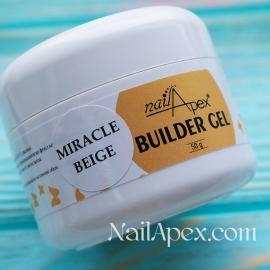 NailApex Моделирующий Крем гель «Miracle Beige» (50g) Builder Gel — гель для ногтей