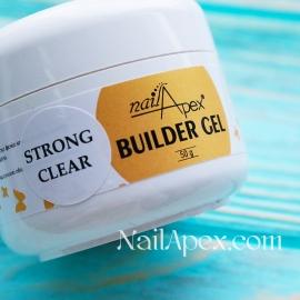 NailApex Моделирующий Крем гель «Strong Clear» (50g) Builder Gel — гель для ногтей