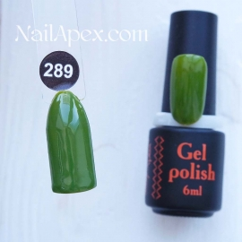 NailApex Gel Polish №289 гель-лак «» (6мл) ч/б