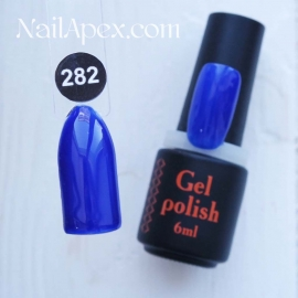 NailApex Gel Polish №282 гель-лак «» (6мл) ч/б