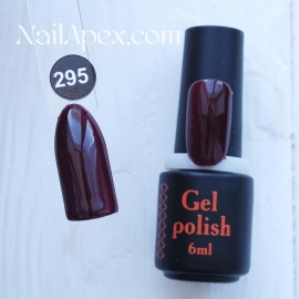 NailApex Gel Polish №295 гель-лак «» (6мл) ч/б