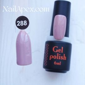 NailApex Gel Polish №288 гель-лак «» (6мл) ч/б