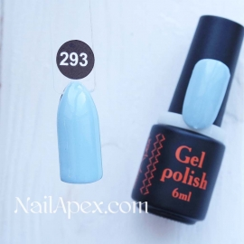 NailApex Gel Polish №293 гель-лак «» (6мл) ч/б